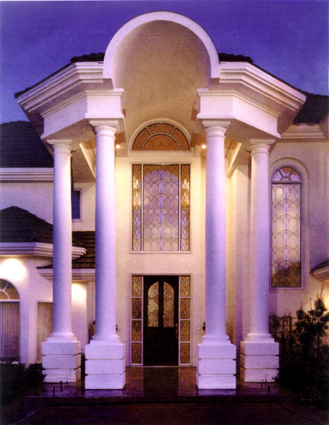 Entryways With Columns Home Decoration Club