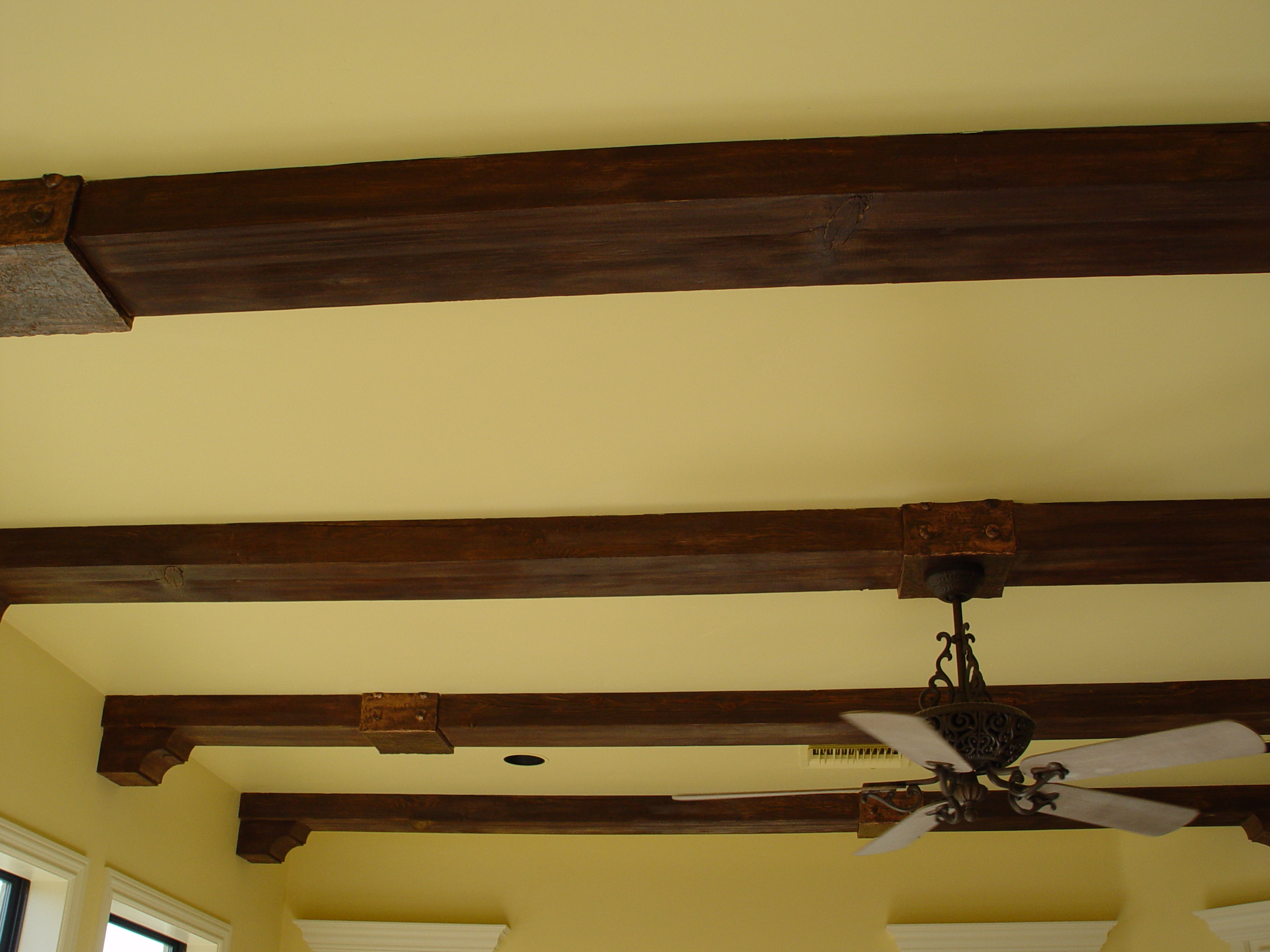 truss exposed trusses kitchenwooden wood cathedral on ceilings attachment rhartflyzcom rhitalianlightdesigncom ideas faux decorative installing trends vaulted beam homesfeed beams ceiling