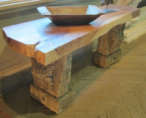 Wooden furniture design