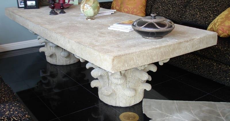 custom stone table design