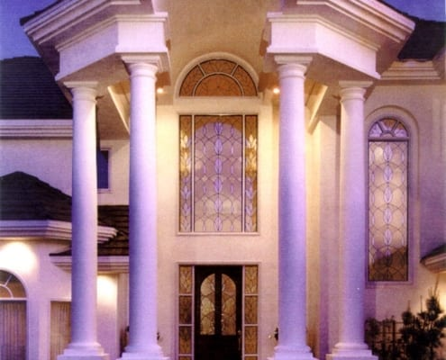 Luxury columns