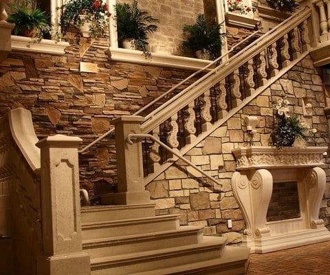 Balustrades stair railings
