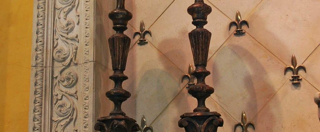 Bronze Candle Stick