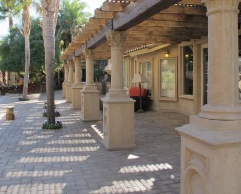 Street column design