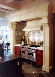 Kitchen hood & surround