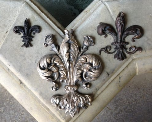 Bronze wall design decors