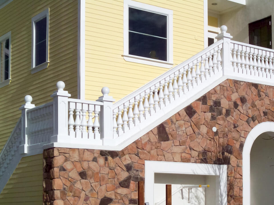 Restaurant outdoor staircases design