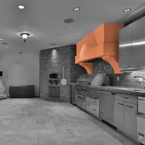 Casa de Slusher Kitchen
