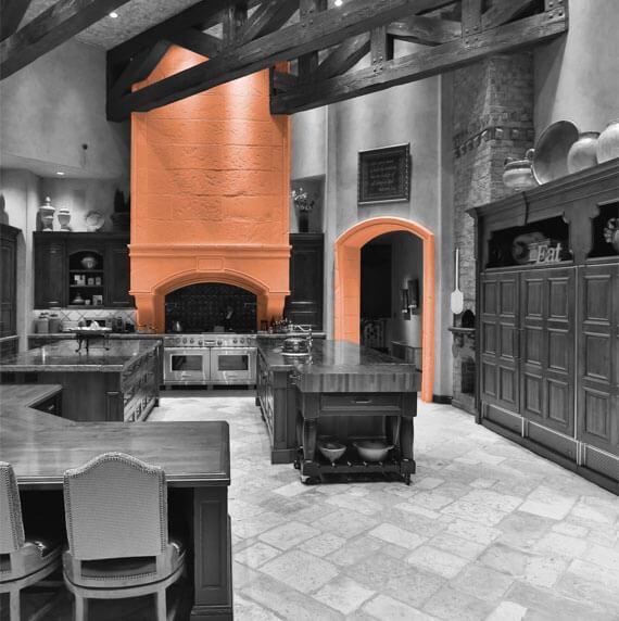 Casa de Slusher Kitchen Hood