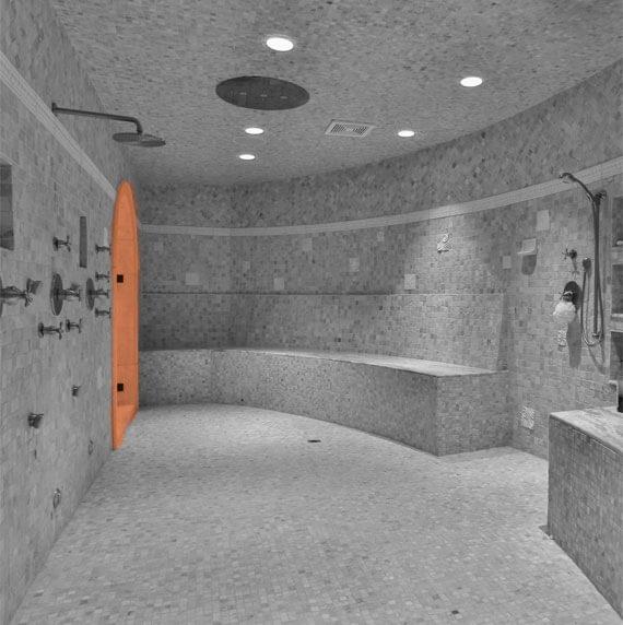 Bathroom molding