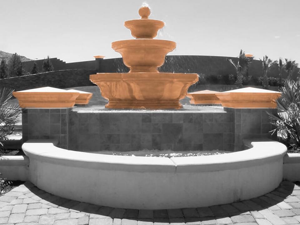 Fountain copings