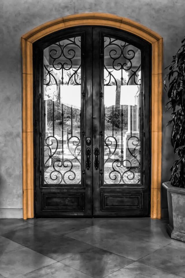Home door molding