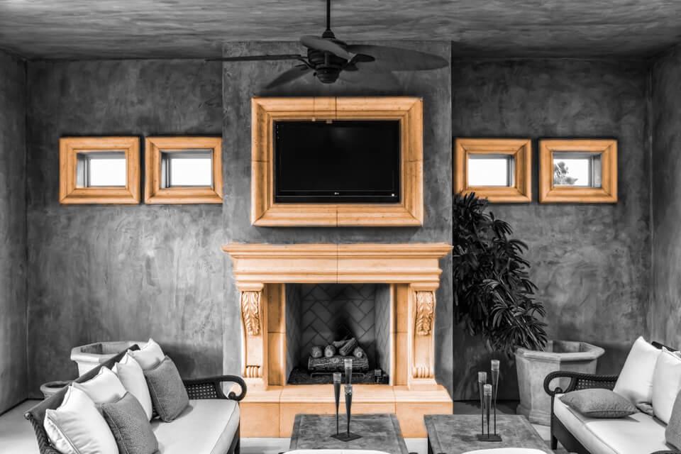 TV molding frame