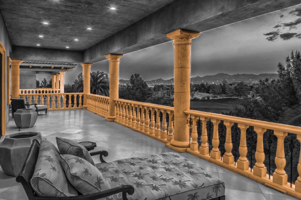 Column design balcony ideas