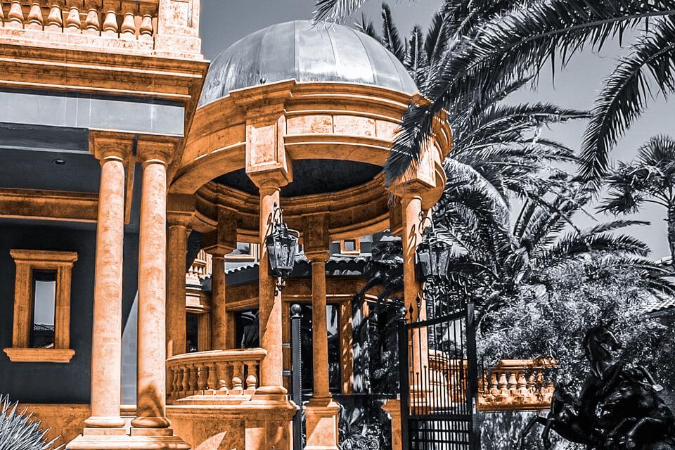 Garden entryway design