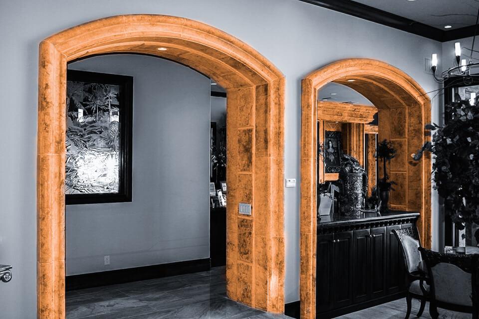 Interior moldings