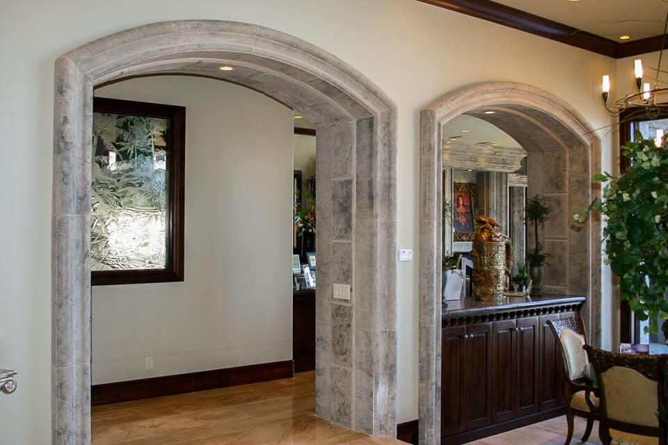 Stone design moldings