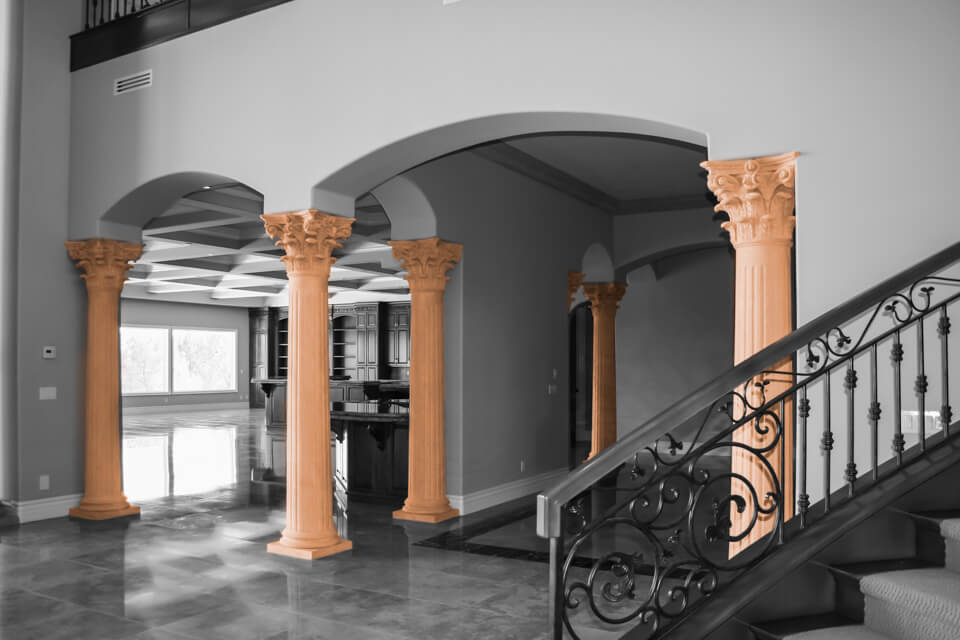 Home column design