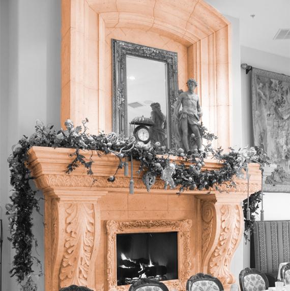 Restaurant Fireplace design
