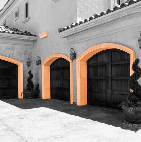 Garage molding design