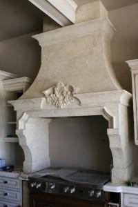 kitchen stone hood