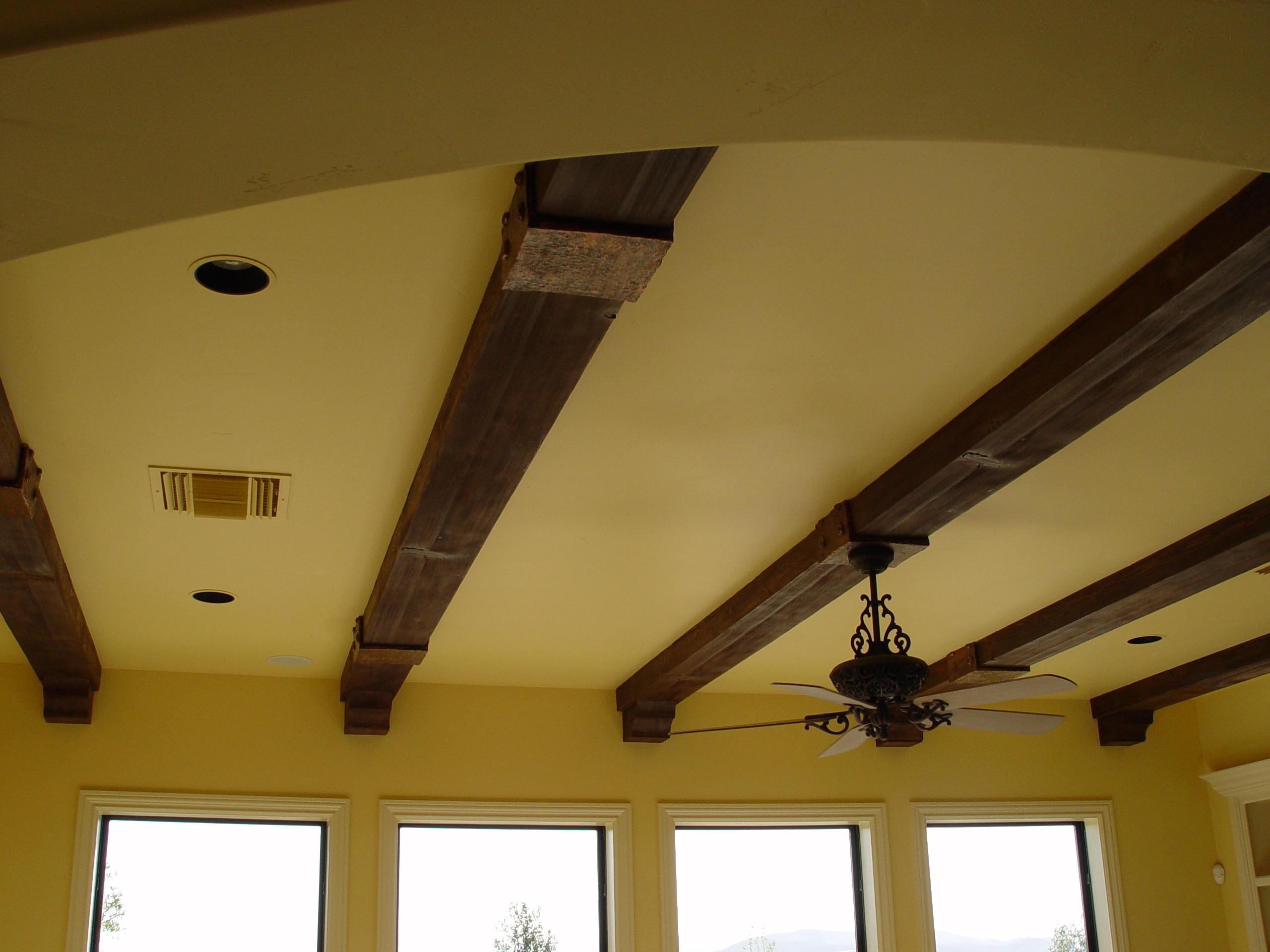 Image of: Elevate Your Ceilings With Faux Wood Beams Blog Realm Of Design