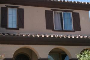 exterior window shutters