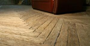 Natural wood flooring