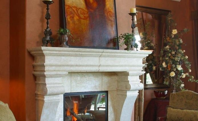 Rustic Design Fireplace