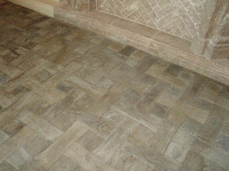 Crossbone flooring