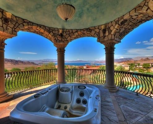 Balcony bathroom design