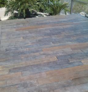 Exterior flooring