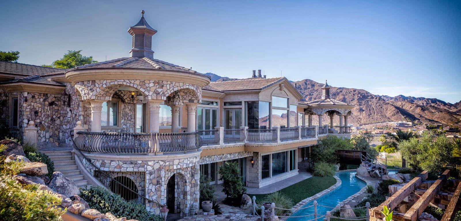 Custom architectural elements in Las Vegas